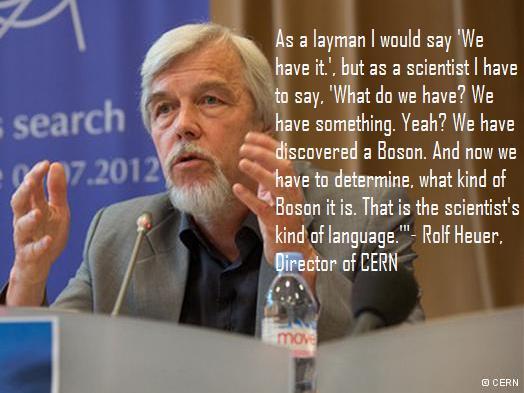 Rolf Heuer Quote