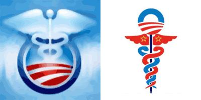 National Health Care Symbol: Obama Adminstration vs. Conservative
