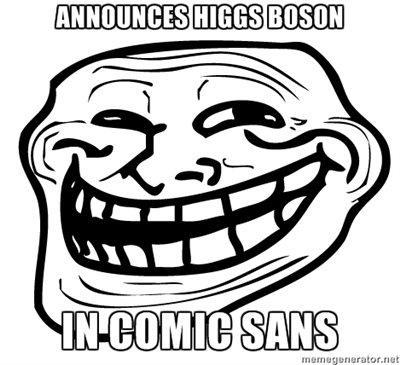 Trollface Higgs-Boson