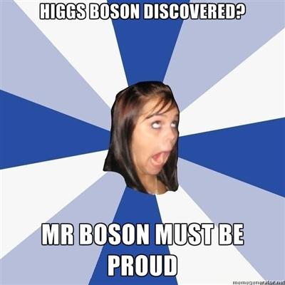 Annoying Facebook Girl Higgs-Boson