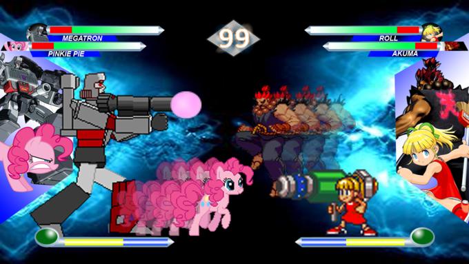 Hasbro Vs Capcom Screenshot 2