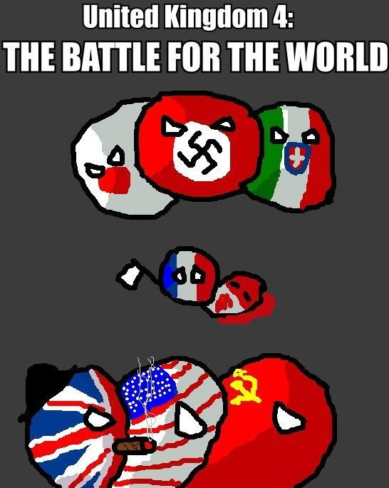 United Kingdom 4: The Battle for the world.