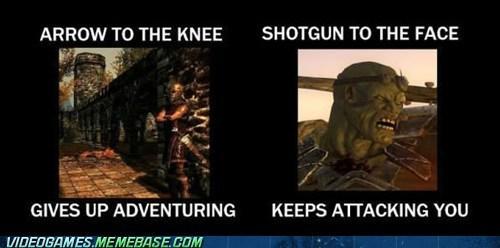 Skyrim Vs Fallout