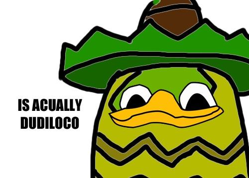 Is accually dudiloco