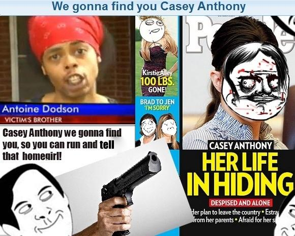Casey Anthony Living in Hiding... WE GONNA FIND YOU!