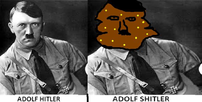 Adolf Shitler, der poo-rer