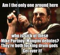 The Great Portnoy/Mangini Debate