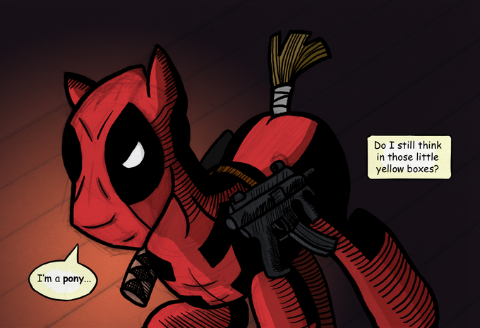 Deadpool ponified