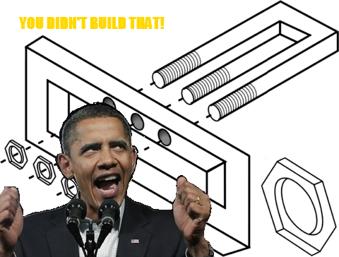 You Didn't Build Those Things