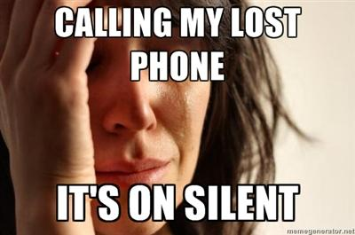 Calling My Lost Phone