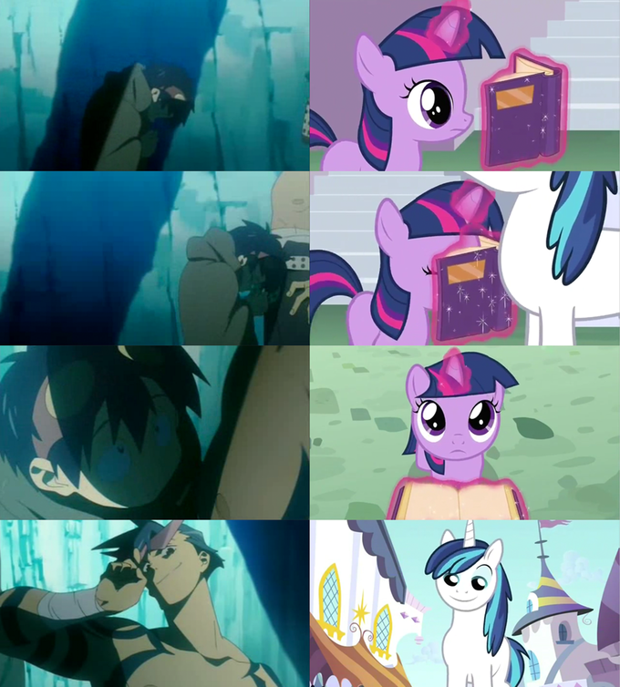 Who the hell do you think i am?! I am Shining armor!