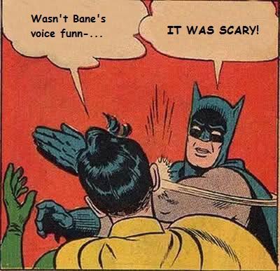 Bane's Voice: Funny?