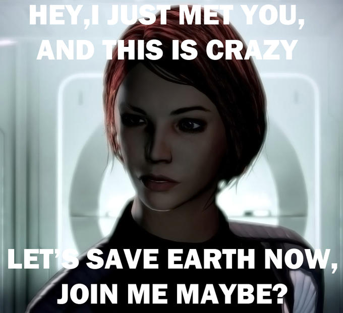 i just met you lets save earth