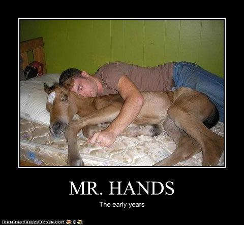Mr. Hands - The early years