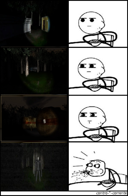 Cereal Guy plays Slender.