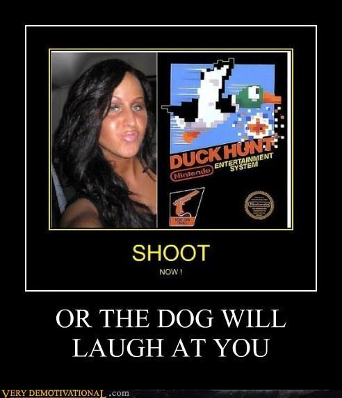 duck hunt duckface