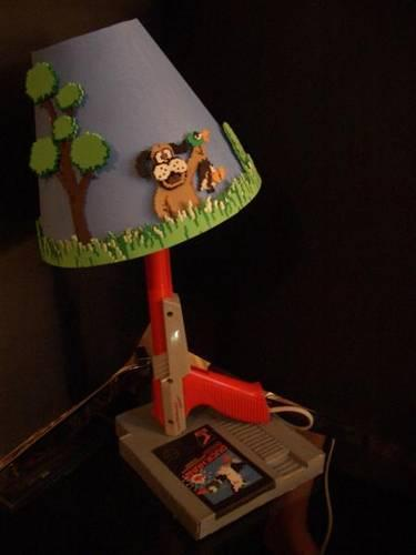 duck hunt lightgun lamp