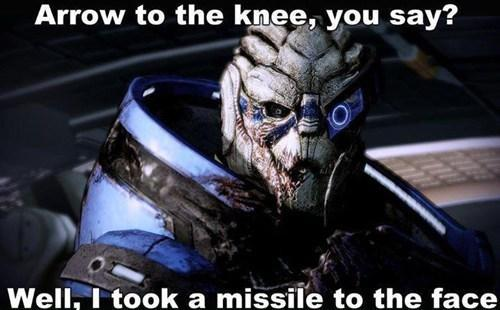 Arrow To The Knee, You Say?