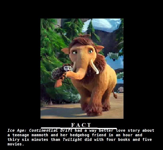 Ice Age: A Way Better Love Story Than Twilight