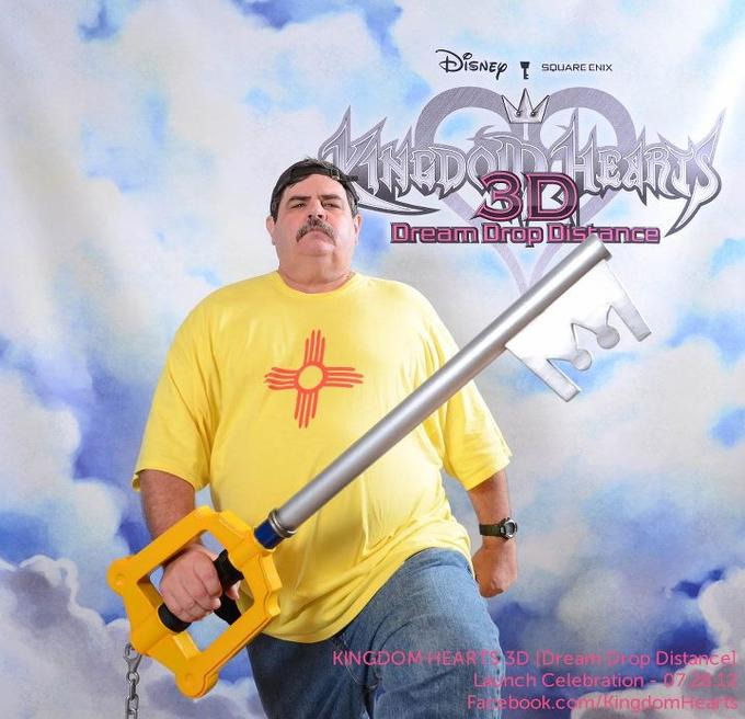 Manly Kingdom Hearts Fan