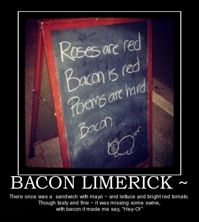 Bacon Limerick