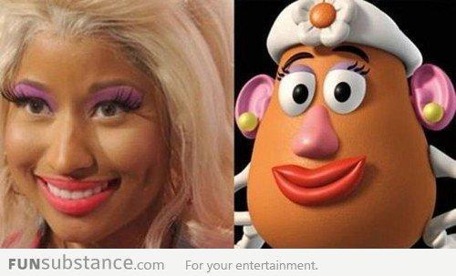 Nicki Minaj: Cannot unsee!!