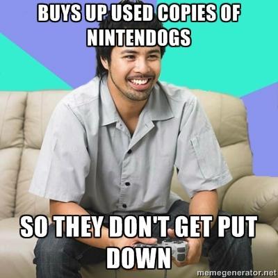 Loves Nintendogs