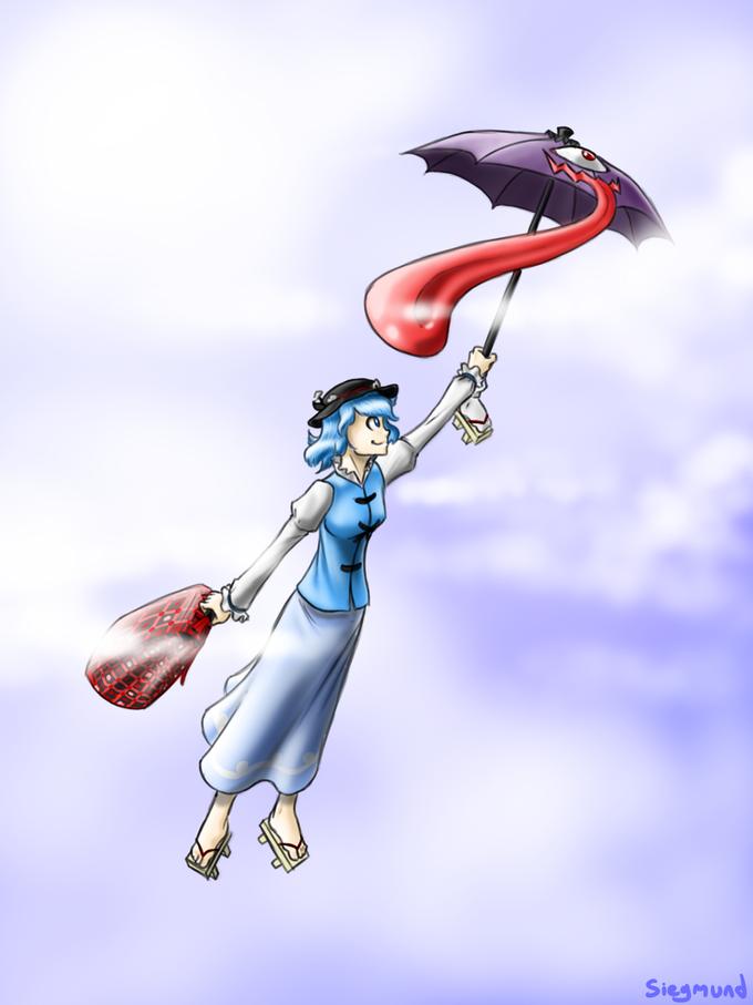 Umbrellas make excellent transport