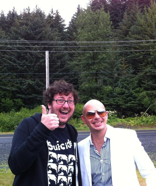 Pitbull and David Thorne in Kodiak, Alaska