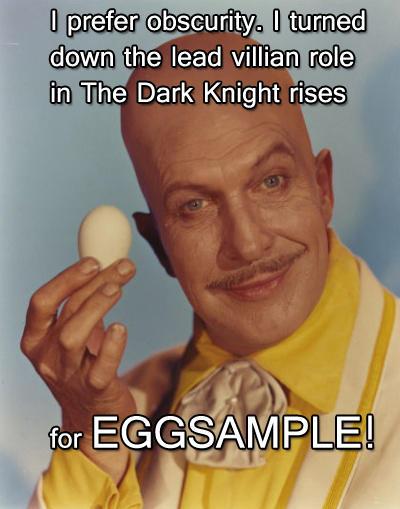 From Professor Egghead