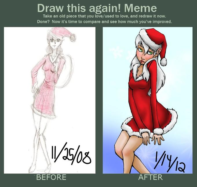 Santa Draw This Again