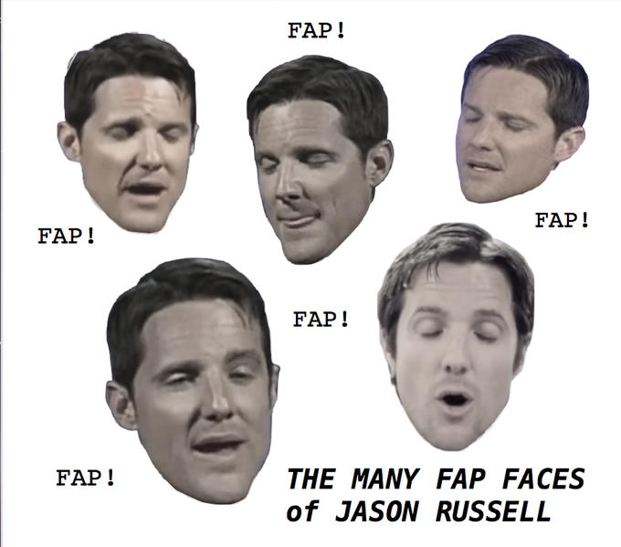 Jason Russell fap faces
