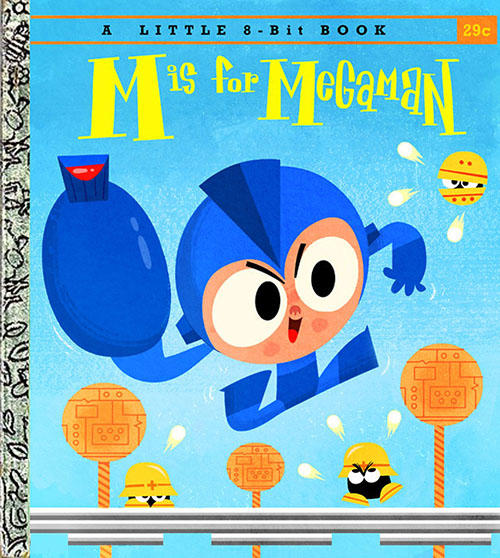 M is for Megaman Children's Book