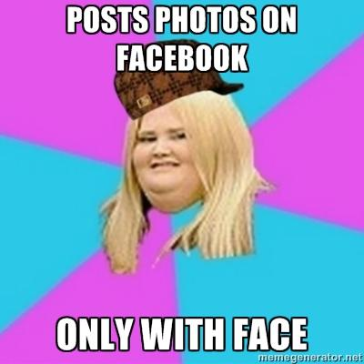 fat girls on facebook
