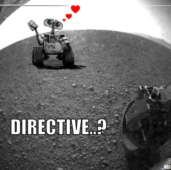 Wall-E meets Curiosity