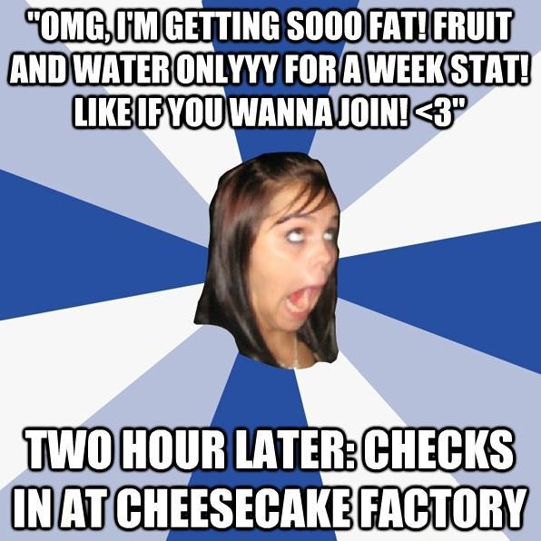 OMG I am sooooooo fat!