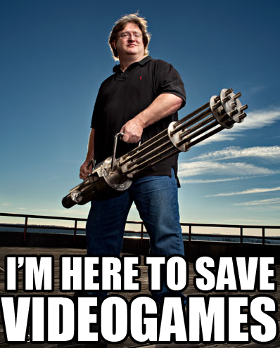 Gabe's Here To Save Video Games