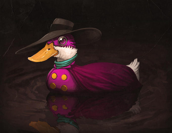 Darkwing Duck...literally