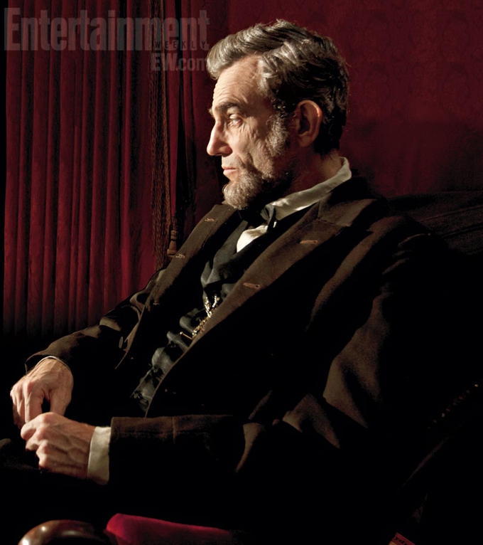 "Daniel Day-Lewis as Abraham Lincoln in Steven Spielberg's ""Lincoln"""