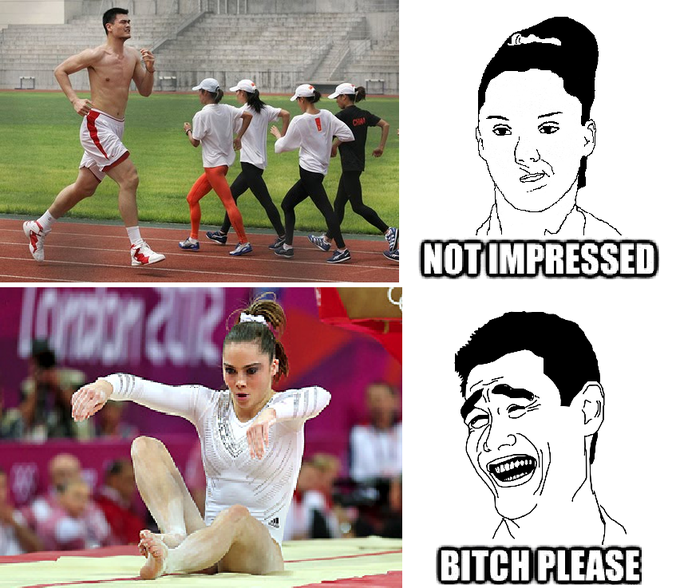 McKayla (Not Impressed) vs. Yao (Bitch Please)