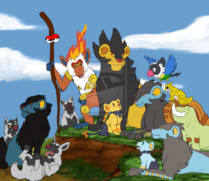 The Pokemon King by http://sochy.deviantart.com/