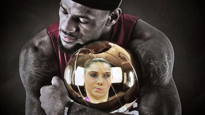Lebron James has to join a super team before winning his first championship. McKayla is not impressed.