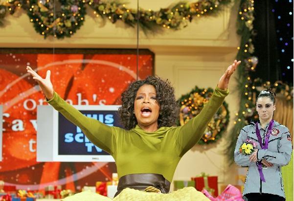 Oprah's Favorite Things? McKayla Not Impressed.