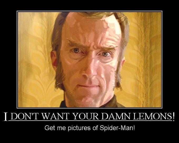 I Don't Want Your Damn Lemons!
