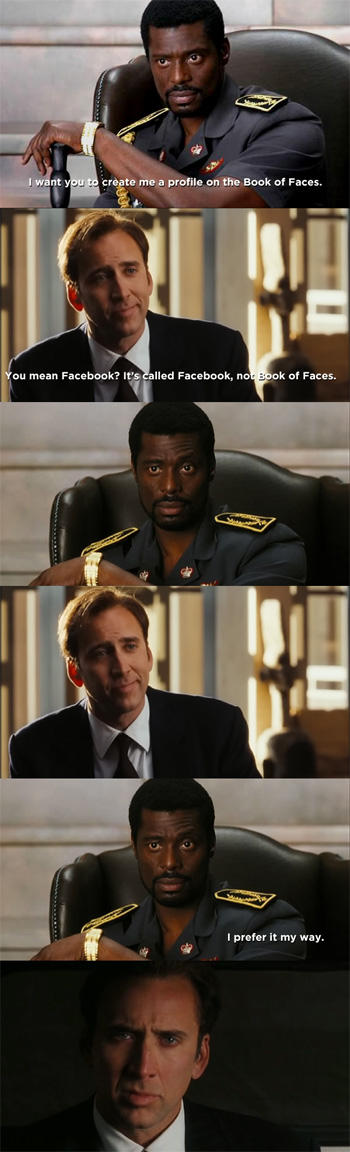 Lord of War - I prefer it my way.