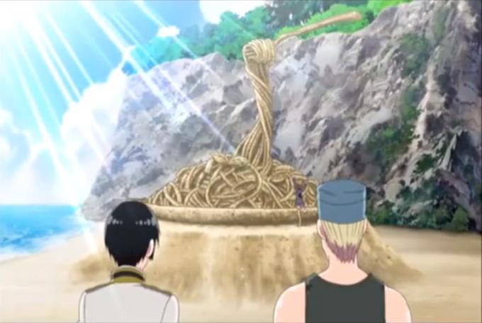 Sand pasta