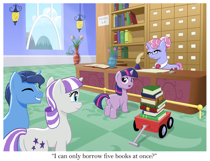 A Pony Making a Decision