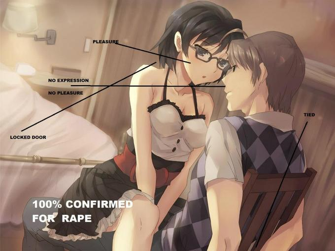 100% confirmed for rape