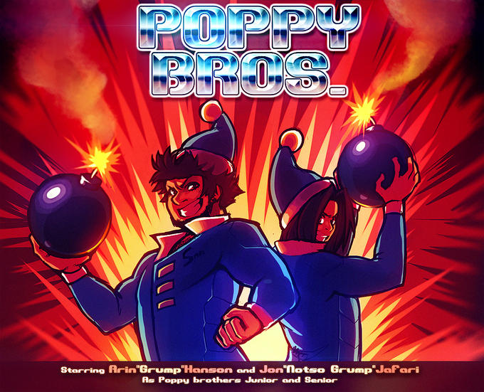 POPPY BROS: THE SERIES:THE GAME:THE MOVIE:THE GAME