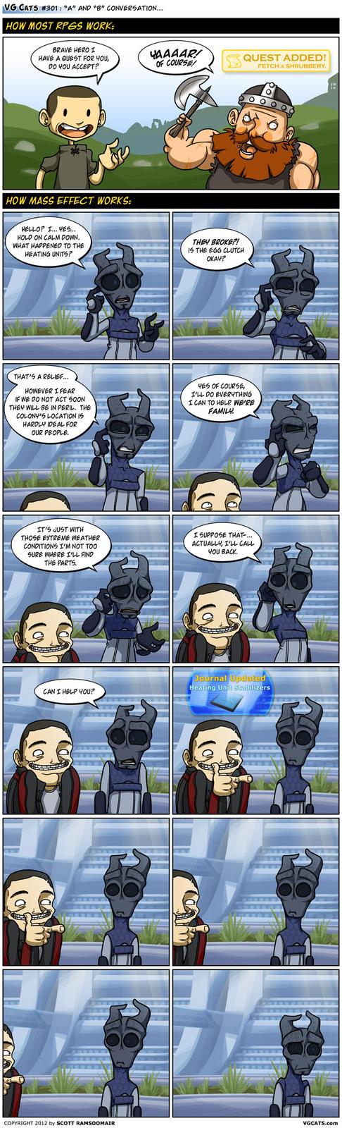 RPGs vs. Mass Effect